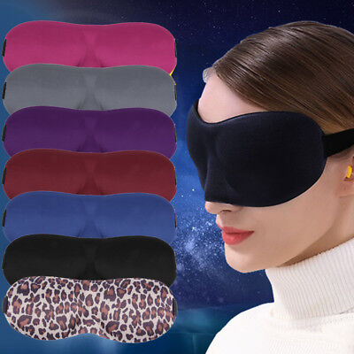 Sleep Blackout Goggles Fatigue Mitigation Breathable Nerves Cool Goggles AO