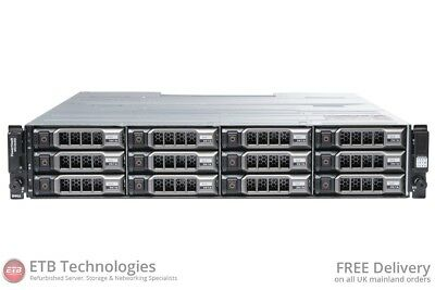 Dell PowerVault MD3600i - 12 x 600GB 15k SAS, Dell Enterprise Class HDDs, Rails