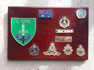 Australian Army Military Plaque