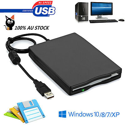 "portable USB External Floppy Disk Drive For Laptop PC Win 7 H FDD 3.5"" 1.44MB"
