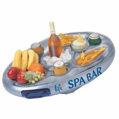 Life Spa Hot Tub Jacuzzi Pool Bar Floating Inflatable Drinks Food Bar FREE P&P