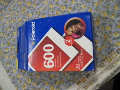 Polaroid 600 2 Pack Film 20 Prints Photos Sealed Expired May 2008 08 Outdated