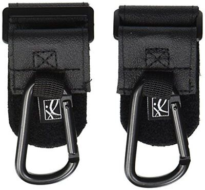 JL Childress Clip 'N Carry Stroller Hooks Black