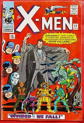 X-Men 22 Marvel Silver Age 1966 Divided We Fall