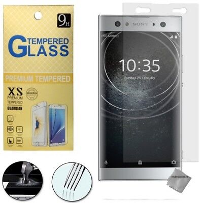 Film de protection vitre verre trempe transparent pour Sony Xperia XA2 Ultra