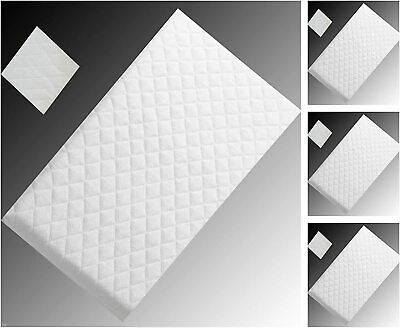 Baby Foam Crib Mattress (85 x 43 cm) Breathable hypo-allergenic FREE DELIVERY