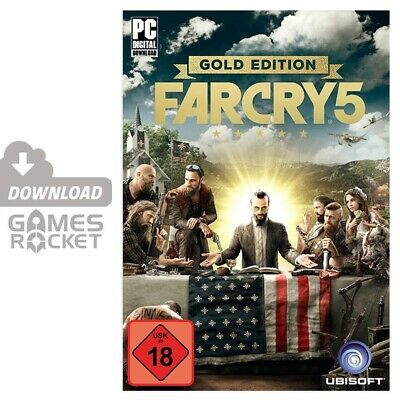 Far Cry 5 - Gold Edition - offizieller Uplay Code Key Download PC
