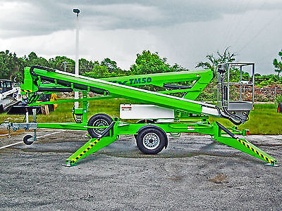 Nifty TM50 Towable Lift,56' Height,2017 Honda Power,All Hydraulic,In Stock In FL