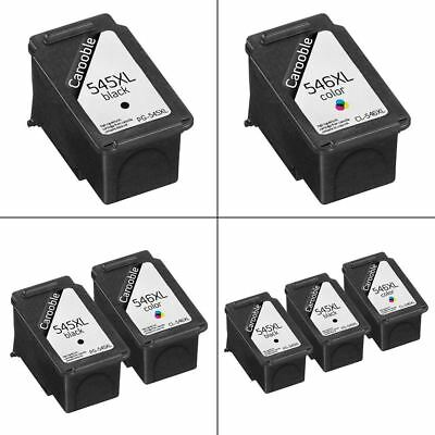 Canon PG-545XL & CL-546XL Ink Cartridges Remanufactured For Canon PIXMA Printers