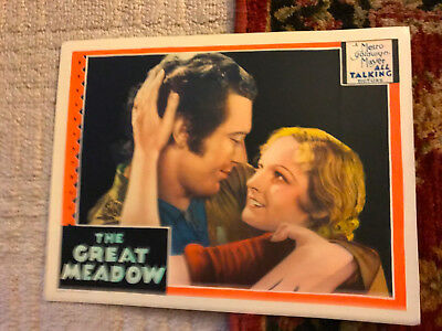 The Great Meadow 1931 MGM 1931 lobby card Johnny Mack Brown Eleanor Boardman