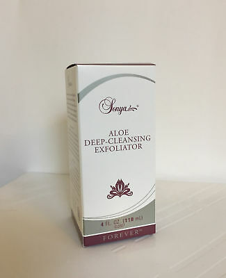 Forever Living Sonya Aloe Deep-Cleansing Exfoliator. 118ml, new in box