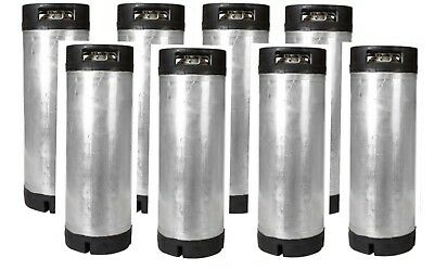 5 Gallon Ball Lock Kegs Reconditioned Eight Pack - Homebrew Beer - Free Shipping