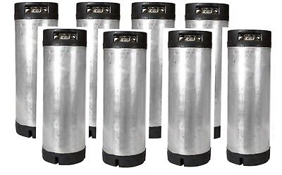 8 Pack 5 Gallon Ball Lock Kegs Reconditioned - Homebrew Draft Beer Free Shipping