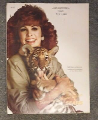 Sears Catalog 1985 Spring Summer 1343 Pages Stefanie Powers Tiger