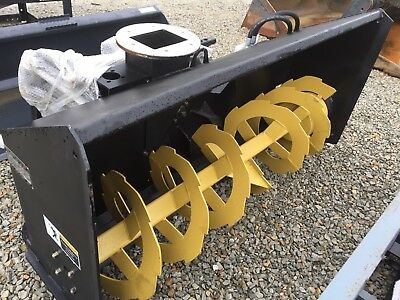 """New Tmg 68"""" Skid Loader Mount Snow Blower. Great Value!! Cheap Shipping"""