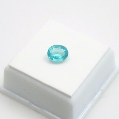 Voelkerite - Fluorapatite 2.20ct - Oval - 9x7mm - Paraiba Blue - Loose Gemstone