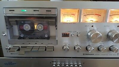 Pioneer Cassette Tape Deck CT-F700   WORKS!  ''AS IS''