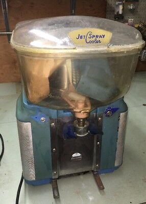 Vintage JET SPRAY Cooler 2 STERI-LIZER Soda Fountain Shop Drink Mixer