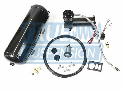 Universal Towing Assist Air Ride Suspension Control System Dual Switch