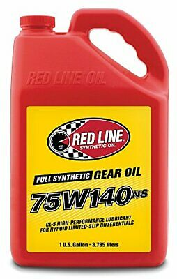 Red Line 57105 75W-140 NS GL-5 Gear Oil - 1 Gallon