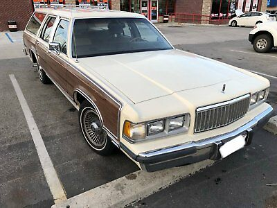 1989 Mercury Grand Marquis LS 1989 Mercury Grand Marquis Colony Park LS wagon (woody)
