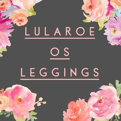 NWT LuLaRoe OS One Size Mystery Pattern Leggings *Cute Easter Gift* Retail $25