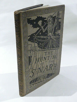 THE HUNTING OF THE SNARK by LEWIS CARROLL FIRST EDITION 1876