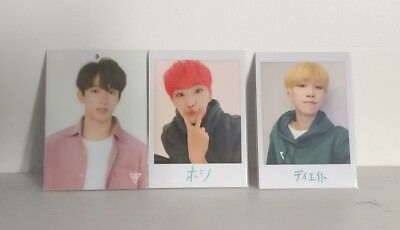 Seventeen Japan Arena Tour Trading Cards 2018 Rare OTP Single