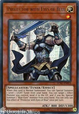 LCKC-EN013 Protector with Eyes of Blue Ultra Rare 1st Edition Mint YuGiOh Card