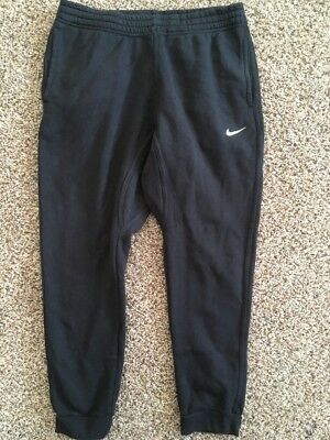 Nike Black Joggers Sweatpants Unisex L Juniors