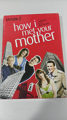How I Met Your Mother Season 2 Complete 3 DVD New and Sealed English French