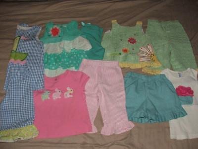 Huge Girls Boutique Custom Made Easter Clothing Lot Size 4T Euc