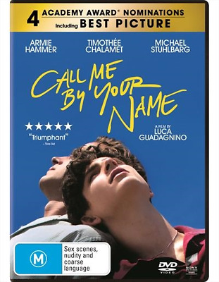 Call Me By Your Name (2018) (DVD) (Region 4) New Release