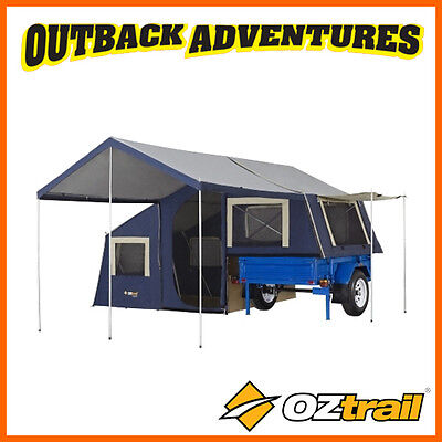 Oztrail Camper 7 Trailer Top Canvas Tent 2 Years Warranty