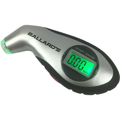 Ballards NEW Motorcycle Dirt Bike Digital Tyre Pressure Gauge