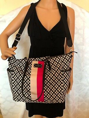 Kate Spade classic spade diaper/overnight large bag tote