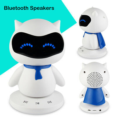 LED Mini Bluetooth Portable Wireless Stereo Speaker MP3 Player for Smartphone US