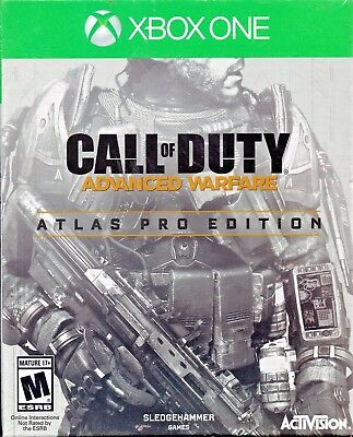 Call of Duty: Advanced Warfare -- Atlas Pro Edition (Xbox One, 2014) *Sealed*