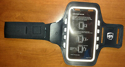 UNIVERSAL Mp3 PLAYER CELL PHONE SMARTPHONE iPHONE EXERCISE ARMBAND w LIGHTS