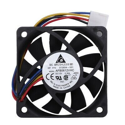 AFB0612VHC CPU PC cooling fan, brushless, 60mm x 13mm 4 pin PWM DC 12V I4D8