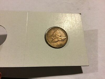 1857 Flying Eagle Cent very fine