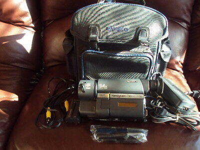RARE! Sony CCD-TRV215  XR  8mm Video Camera VCR  Works!