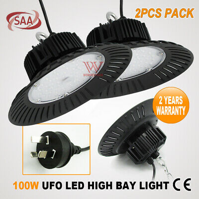 Ufo 200W Led High Low Bay Warehouse Shop Factory Work Light Industrial Down Lamp