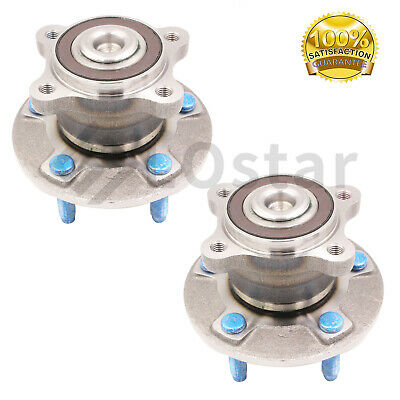Pair(2) Rear Wheel Hub Bearing Assembly Fits Chevy Sonic LT LS LTZ RS ZMX 12-14