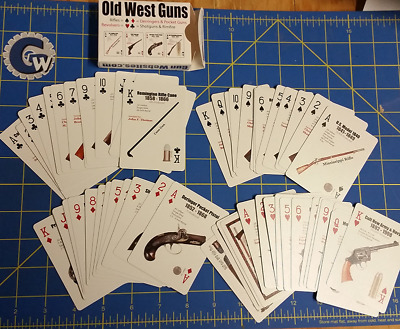 Old West Guns Playing Card Deck
