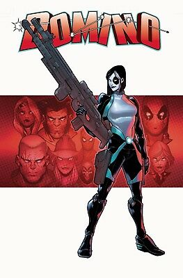 DOMINO #1 BALDEON VARIANT Marvel Comics Presale 4/10/2018