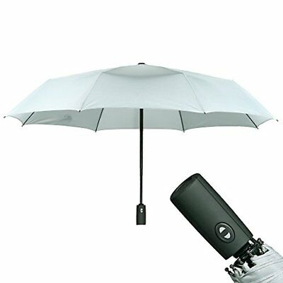 Sunyouth Automatic Open Close Compact Travel Umbrella Windproof Outdoor Rain Pro