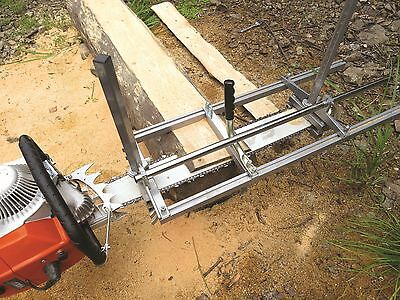 """Holzfforma Portable Chain saw mill 24"""" Inch Planking Milling Bar Size 14"""" to 24"""""""