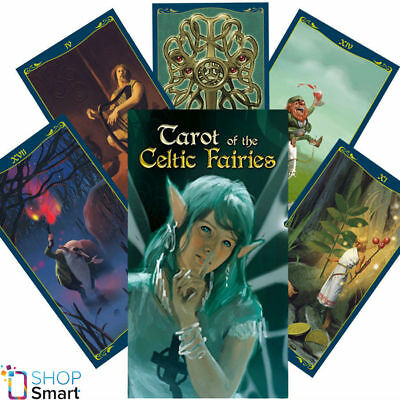 Tarot Of The Celtic Fairies Deck Cards Esoteric Fortune Telling New