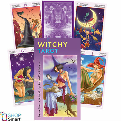 Witchy Tarot Deck Cards Esoteric Fortune Telling Lo Scarabeo New